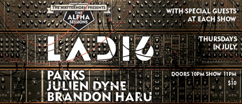 The Alpha Sessions with Ladi6