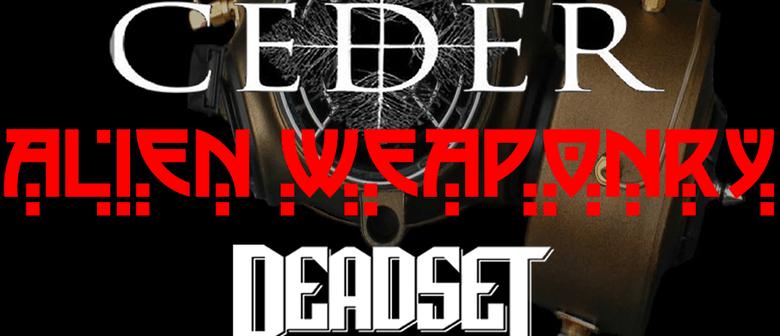 Alien Weaponry July Tour
