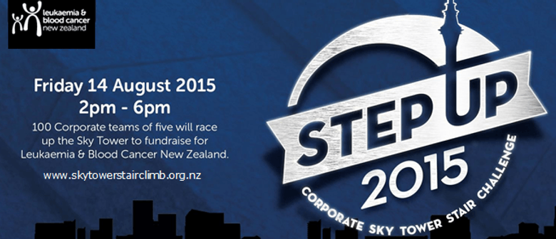Corporate Sky Tower Stair Challenge
