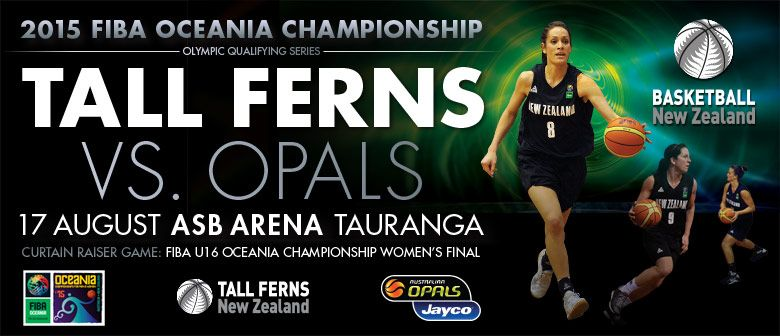 FIBA Oceania Championship - Tall Ferns vs Opals