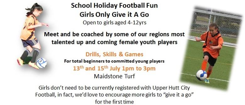 School Holiday Girls Only Football Fun