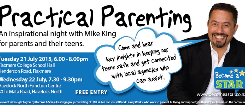 Practical Parenting: An Inspirational Night with Mike King