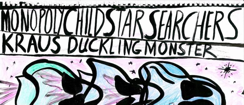 Monopoly Child Star Searchers (US), Kraus, Ducklingmonster