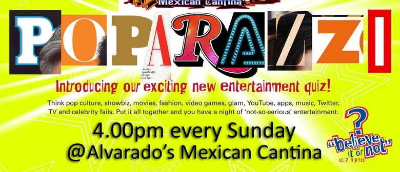 Alvarado's Sunday Arvo Poparazzi Quiz!