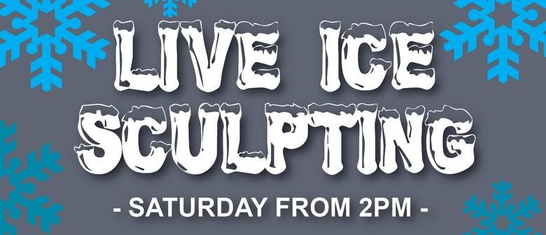 Live Ice Sculpting Demonstration