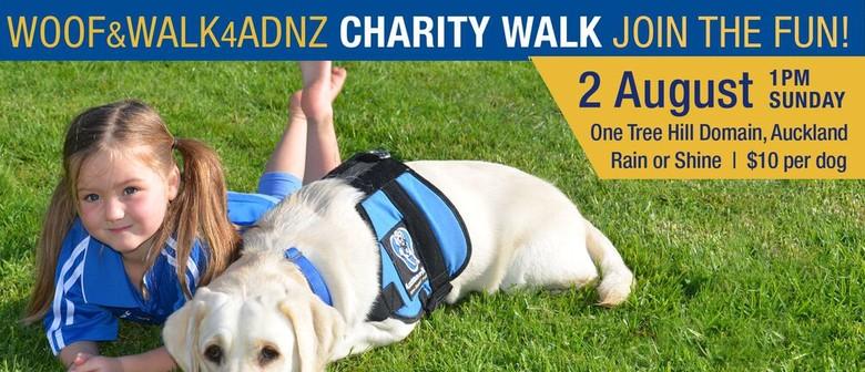 Assistance Dogs NZ Trust Charity Dog Walk - Woof&Walk4ADNZ