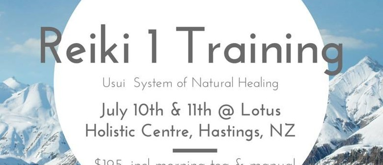 Reiki 1 Training (2 Days)
