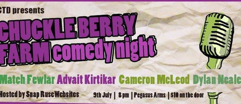 Chuckle Berry Farm Comedy Night