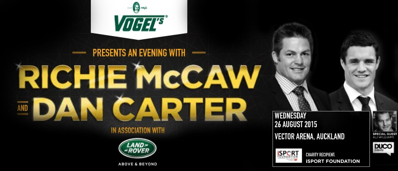 An Evening with Richie McCaw and Dan Carter
