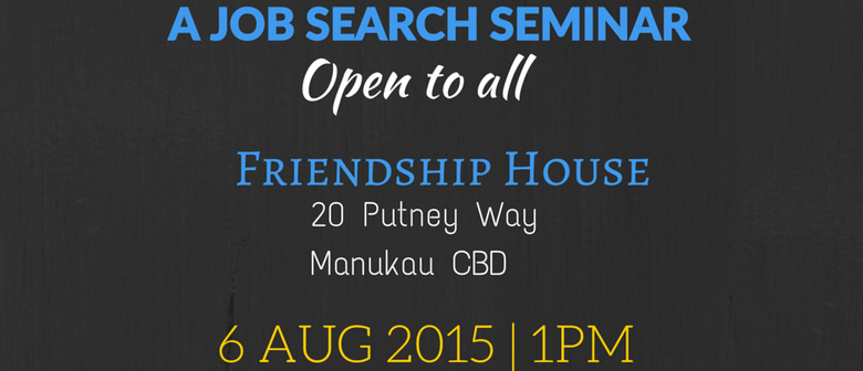 Start Right in NZ - A Job Search Seminar