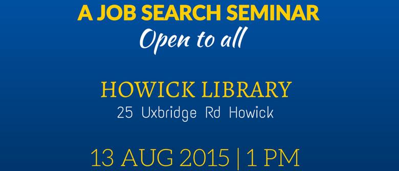 Start Right in NZ - A Job Search Seminar