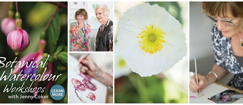 Jenny Coker - Botanical Watercolour Talk & Workshop Taster