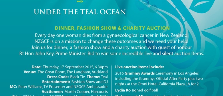 Getting Glamorous for Gynae - Under the Teal Ocean