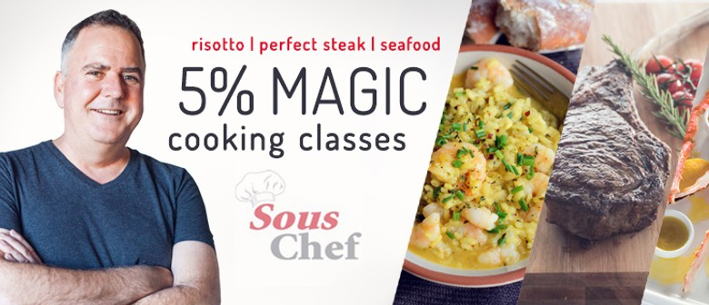 Intimate Cooking Classes with Simon Gault