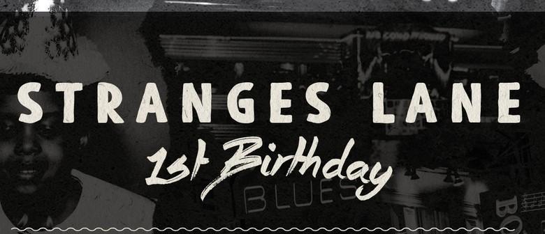 Stranges Lane First Birthday