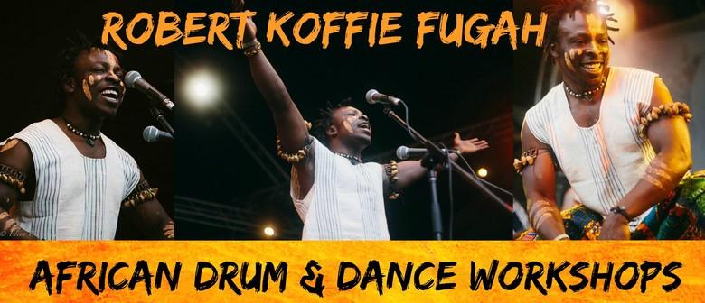 Robert Koffie Fugah; African Drum & Dance
