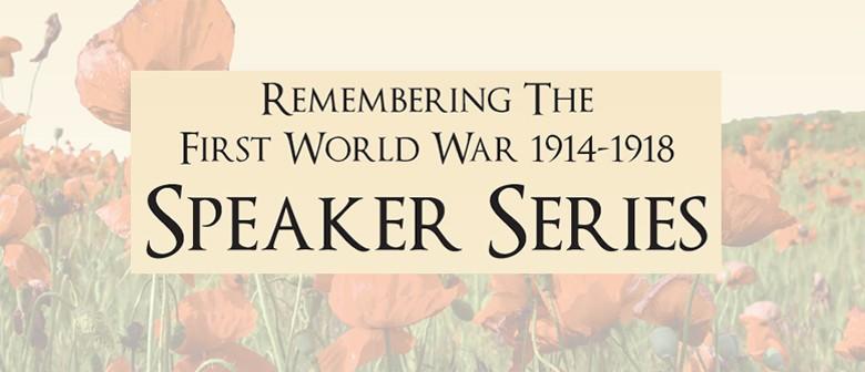 Nurses at War by Anna Rogers - WW100 Speaker Series