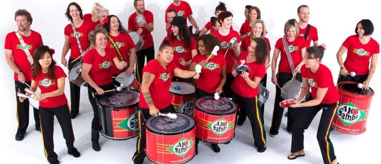 AKSamba Brazilian Drumming & Percussion Beginners' Workshop