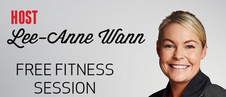 Fitness Session Run by Kiwi Living's Lee-Anne Wann
