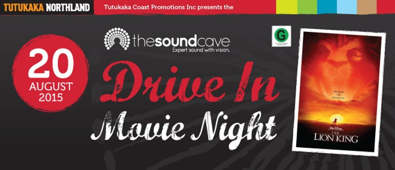 The Soundcave Drive In Movie Night featuring The Lion King
