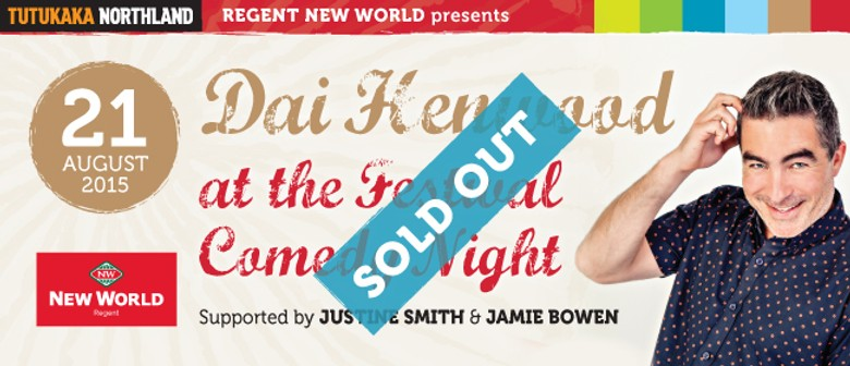 Regent New World Comedy Night featuring Dai Henwood