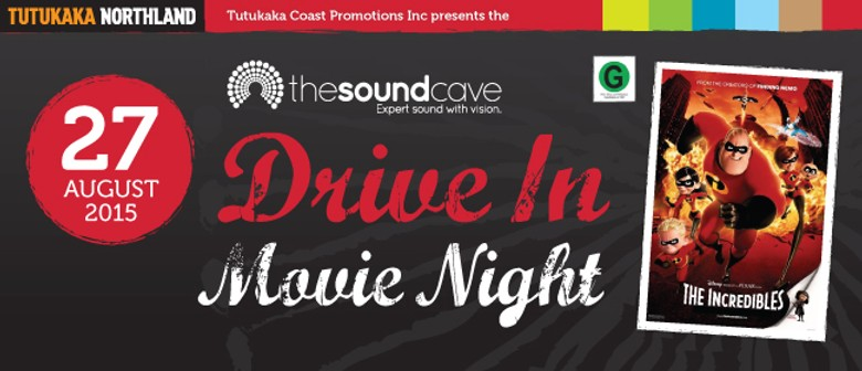 The Soundcave Drive In Movie Night featuring The Incredibles