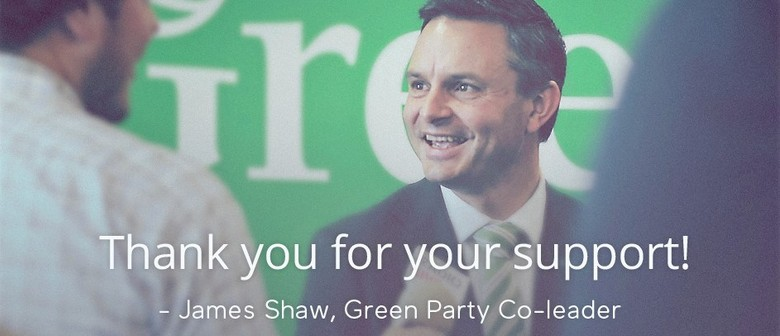 Ohariu Electorate : Meet and Greet James Shaw, Green Party