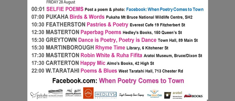 Rhyme Time - When Poetry Comes to Town