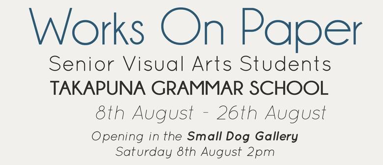 Takapuna Grammar School: Works on Paper 2015