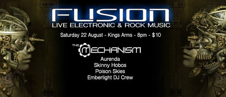Fusion - Electronic & Rock Music Event