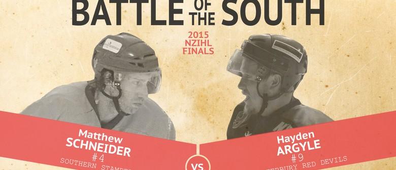 NZIHL Grand Final Game 1 Red Devils V Southern Stampede