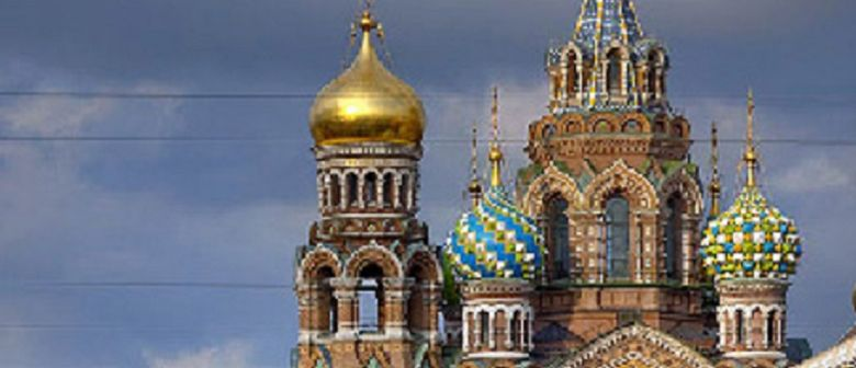 White Night in St Petersburg