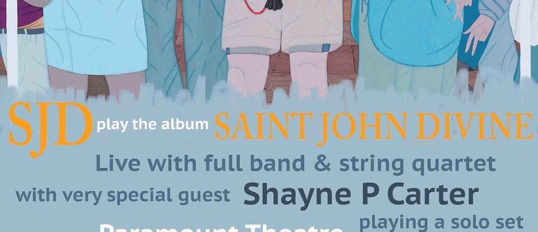 SJD with string quartet & Shayne P Carter (solo)