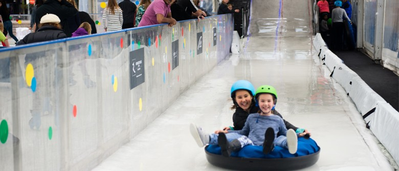 Harcourts Outdoor Ice Rink & Ice Slide