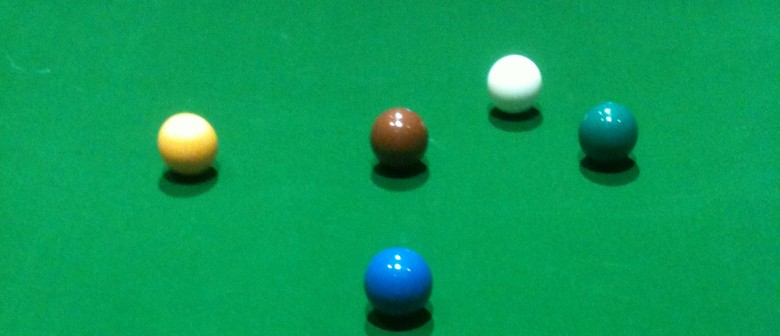 `Heaphy` Hawkes Bay Open Snooker