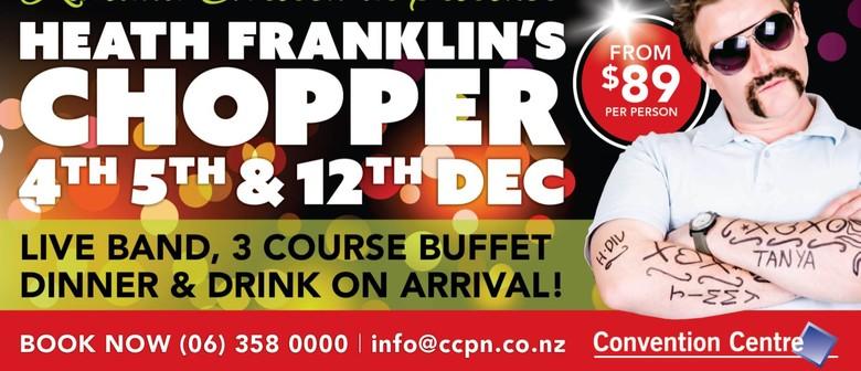 Kiwiana Christmas Presents Heath Franklin's Chopper