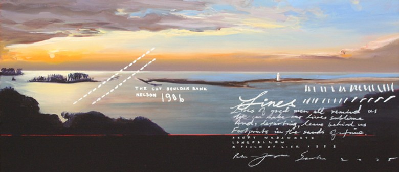 New Paintings Exhibition: Line Of Sight by Peter James Smith