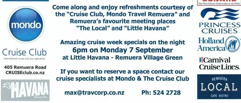 Cruise Week Information Evening