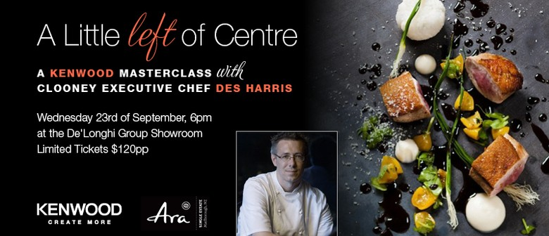 Masterclass with Clooney Executive Chef Des Harris