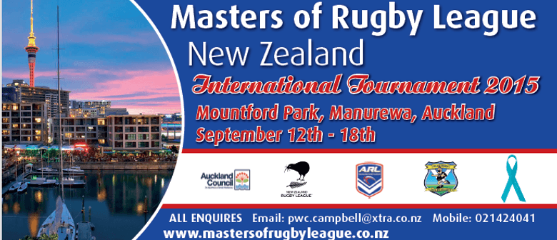 Masters of Rugby League in support of Blue September