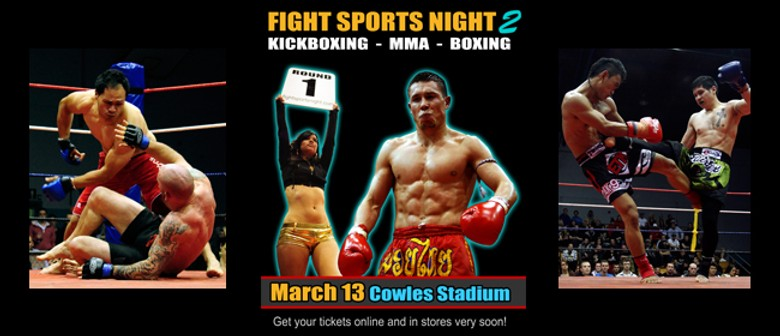 FSN 2 - Fight Sports Night - Christchurch - Eventfinda