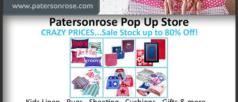 Patersonrose Pop Up Store