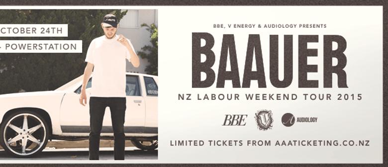 Baauer - Auckland (Powerstation)