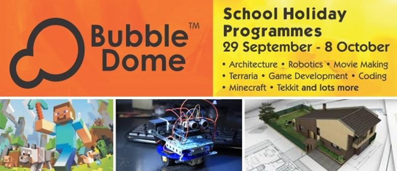 School Holiday Bubbledome Coding, Electronics & Robotics