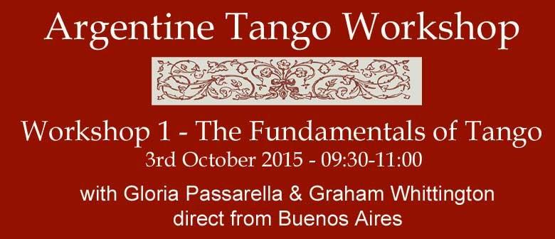 Fundamentals of Tango - Workshop 1