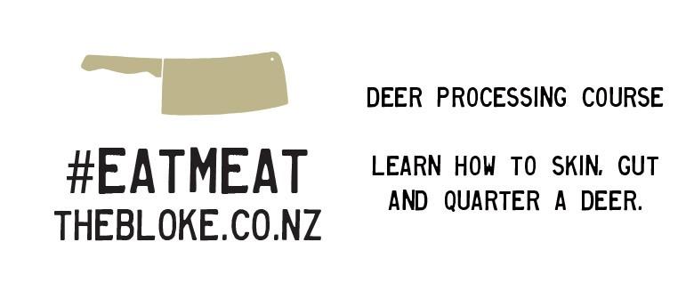 Deer Field Dressing and Basic Butchery