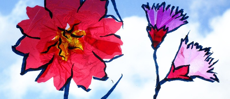 Luminous Blossom Workshop With Tape Artists Nz