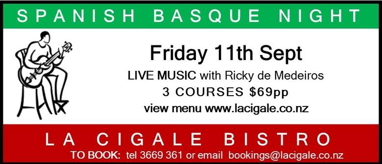 Spanish Basque Evening