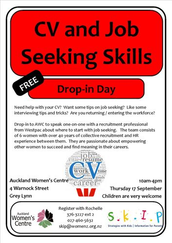 CV Writing and Job Seeking Skills - Auckland - Eventfinda