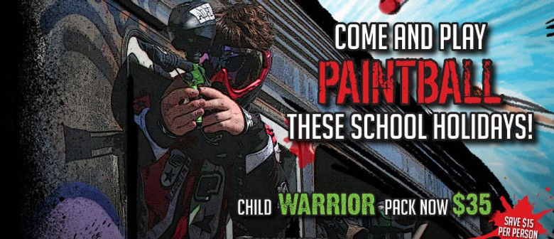 Hey Couch Potatoes, Play Paintball These School Holidays